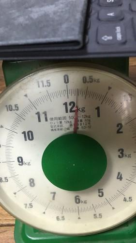 キーボードの重量
