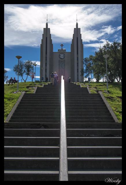 Islandia Myvatn Godafoss Akureyri Glaumbaer Vidimyrarkirkja Grundarfjordur - Iglesia de Akureyri