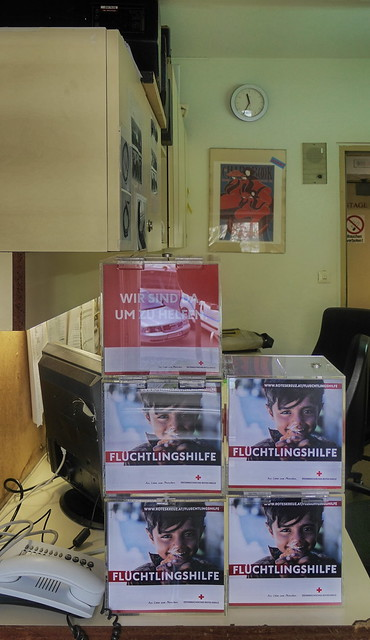 Prompters` & Stage Callers` Office: Donation Boxes