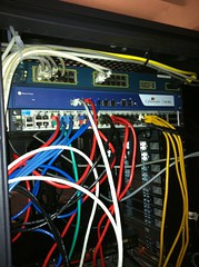 Rechenzentrum Server Einbau