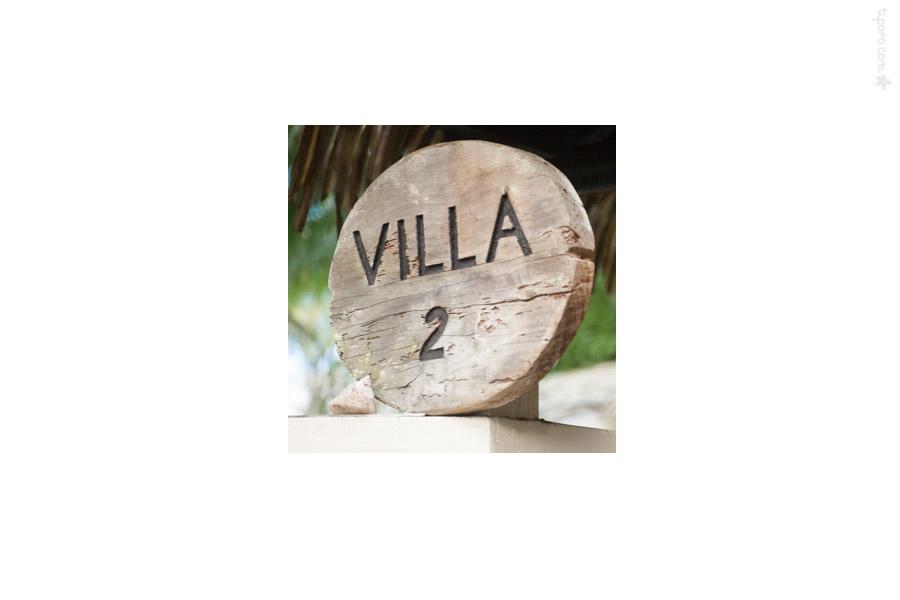 Villa 2. beach rustic