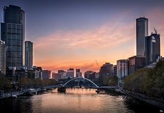 Yarra River Sunset