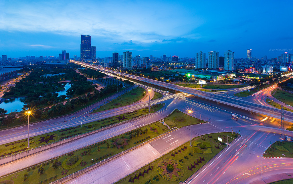 Hoa Lac highway - Hanoi