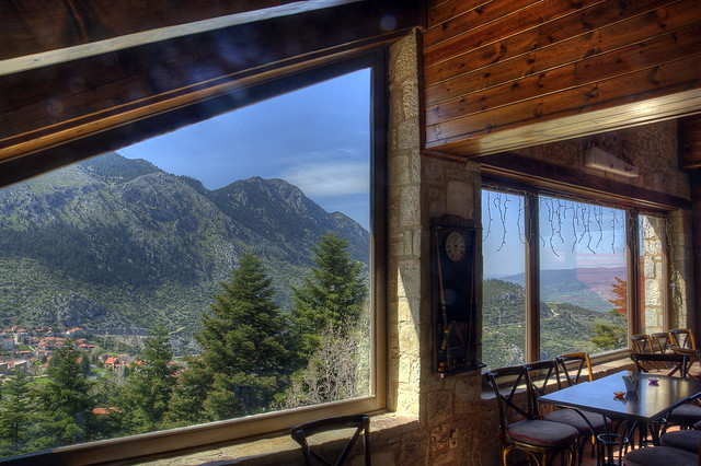 Enjoying the view @ Agoriani