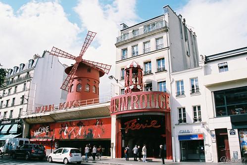 Moulin Rouge. Paris. France