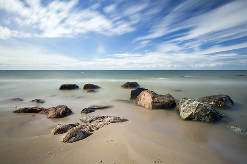 sea sky beach nature island sand long exposure estonia stones aegna nd400