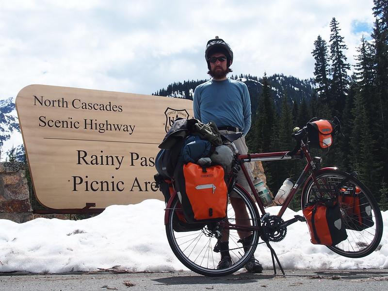 Rainy Pass Summit: Victory!