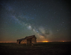 Milky Way over Abandoned Alberta