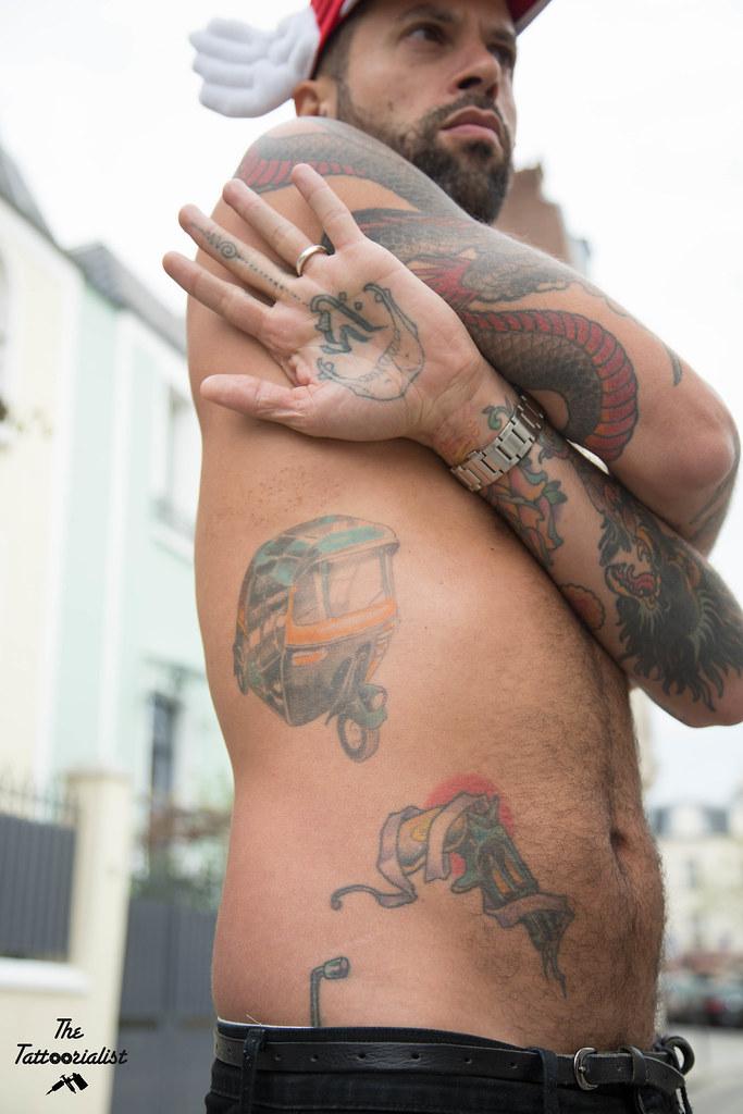 issa et thierry - the tattoorialist - des portraits de tatoués