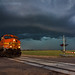 Storm Train by Matt Granz Photography