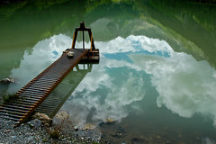 Le ponton dans les nuages