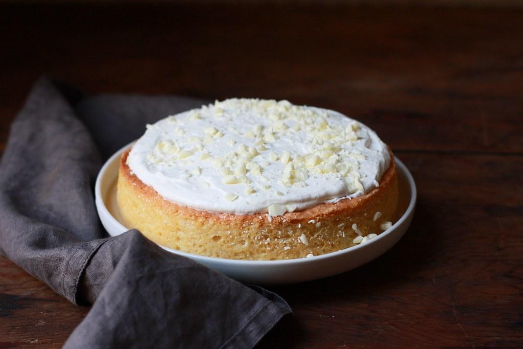 White Chocolate Tres Leches Cake
