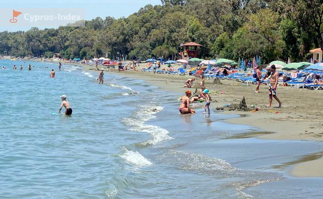 Пляж Губернаторский. Кипр. Пляжи Лимассола