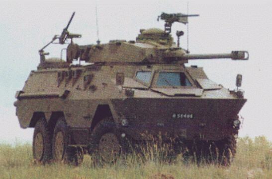 Ratel 90 tank hunter