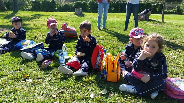 Excursión de 1º Infantil a Santillán