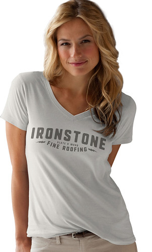 Ironstone Fine Roofing Crew Shirts