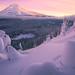 Mt Hood Winter by alan howe