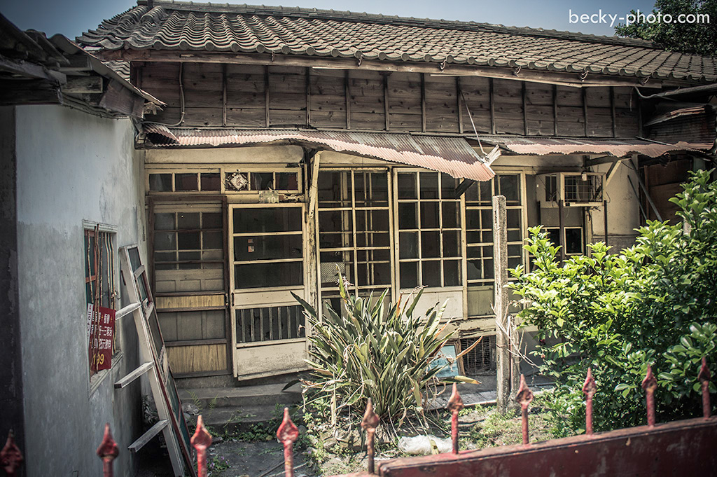 2015.Apr old house @Taichung潭子國小日式校舍