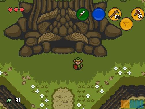 Zelda: Ocarina of Time 2D - Gran Árbol Deku