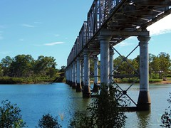 Burnett River Rail Bridge Bundaberg 1891