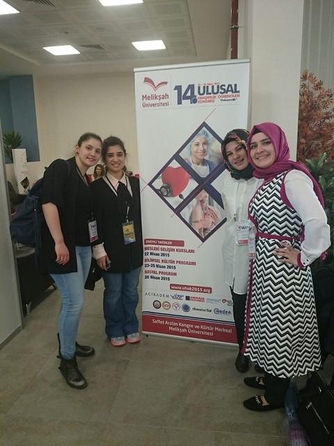 Geleceğin hemşireleri, 14. Ulusal Hemşirelik Kongresi'nde buluştu