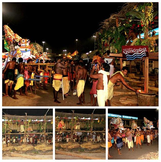 Pancha Mahadeb at Rathakhala rituals Panti Bhoga
