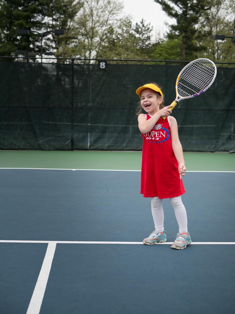 Loving tennis