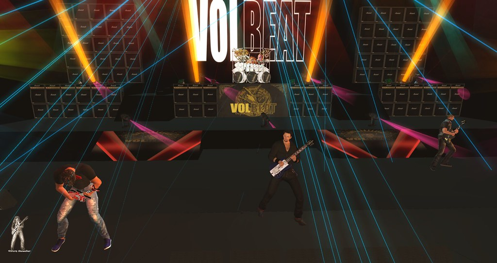 TRC, Live Tribute Band in Second Life®'s most interesting Flickr