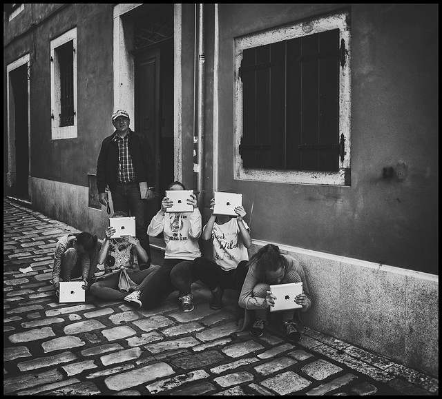 iPad photographers