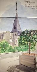 Sketching in Paris - Promenade Plantee