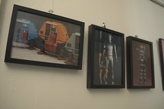 Posters From The Big Screen: From Sci-Fi To Reality: Fred Barton (US): Dewie, Huey & Lewie, Gort, Robbie the Robot