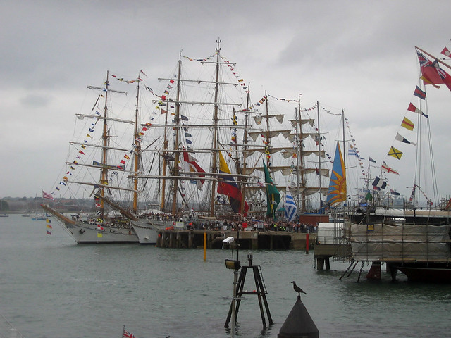 Tall ships at Portsmouth