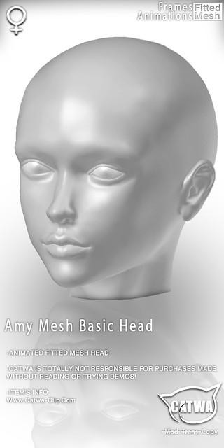 CATWA HEAD Amy [Doll]