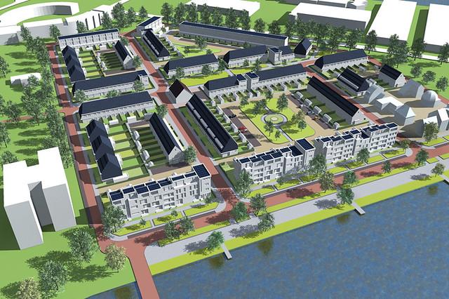 Heijplaat Nieuwe Dorp Kuipers Compagnons