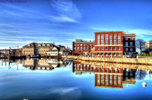 usa reflection water massachusetts woodshole hdr nikond5000 photomatixpro4