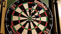 recreation(0.0), dartboard(1.0), indoor games and sports(1.0), individual sports(1.0), sports(1.0), games(1.0), darts(1.0),