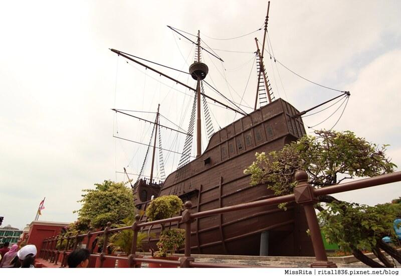 馬來西亞 麻六甲 馬六甲景點 荷蘭紅屋廣場 聖保羅堂St. Paul's Church 馬六甲蘇丹王朝水車 海上博物館36