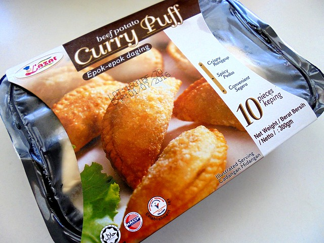 Frozen curry puffs 1