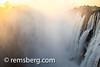 LIVINGSTONE, ZAMBIA - Victoria Falls Waterfall