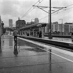 North Temple Trains and Rain