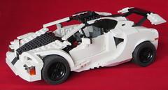 McLaren road Supercar of the future.