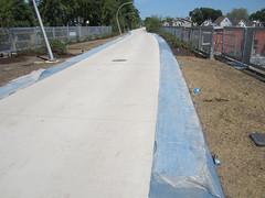 sidewalk, soil, roof, road, driveway, concrete, walkway,