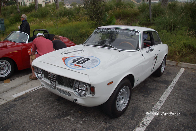 1965 Alfa Romeo GTA at the Steve McQueen Rally