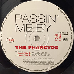 THE PHARCYDE:PASSIN' ME BY(LABEL SIDE-A)