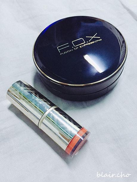 Fox輕柔氣墊bb水粉spf50氣墊粉餅水潤質地好推開打造明亮底妝