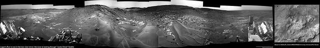 Mars: 'Jocko Chute' provides a safe passage to 'Logan Pass'