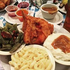 A fat girls dream dinner....