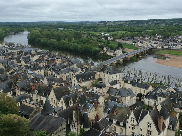 Chinon, hometown of Docteur Rabelais
