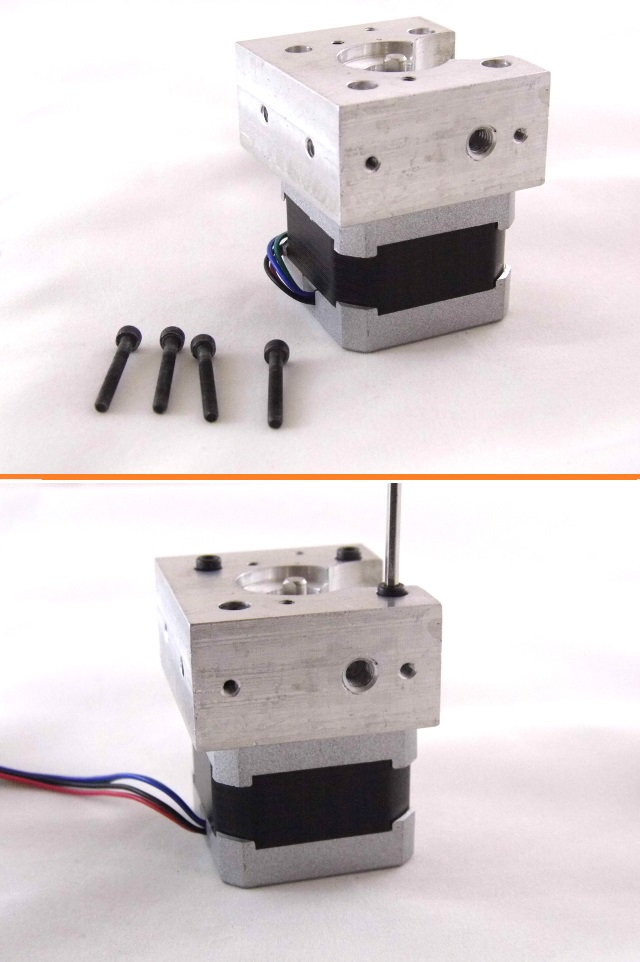 aSensar v3 Direct Drive Extruder Assembly Guide