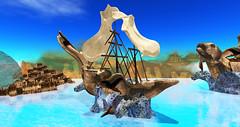 Poseidon's Abyss - Ship Sculpture
